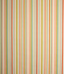 Funky Stripe Fabric Coral