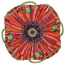 Coloring Flower Mandalas A Garden Inspired Book That Hypnotically Relaxes Adults