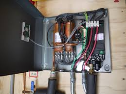 Simple Water Heater Pipe Connections Placement by Tankless Water Heater Cabin Diy