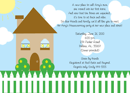 Wording For Housewarming Invitations