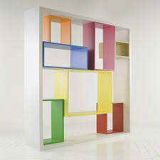 decorations colorful freestanding bookshelf unit in modular