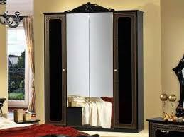 italienisches schlafzimmer komplett schwarz gold hochglanz