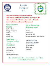 Nyc Christmas Tree Disposal by Buffalo Recycles 34 And More
