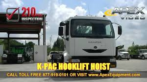 Hook Lift Truck For Sale - YouTube Wess Waste Equipment Sales Service Llc Truck Hyva Australia Workshop Aus Non Cdl Cassone And Hino Hooklift Trucks For Sale N Trailer Magazine New 2018 Kenworth T270 Hooklift Truck For Sale In 110915 Hook Lift Youtube Truck Loading An Dumpster China Dofeng Small Arm Garbage For Marrel Cporation Hiab Xs 1223 Hiduo Knuckle Boom Crane Knuckleboom Trader 2001 Chevrolet Kodiak C7500 Auction Or Lease