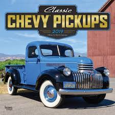 100 4wd Truck Amazoncom 2019 Pickups Classic Chevy Wall Calendar S 4WD