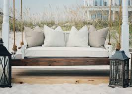 Swings Swing Beds Outstanding Patio That Turns Into Ideas