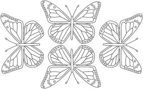 Free Printable Butterfly Coloring Pages Adults 2