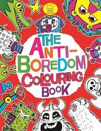 The Anti Boredom Colouring Book By Chris Dickason
