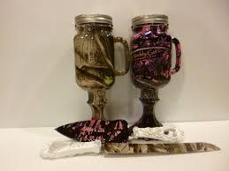 Mason Jar Wedding Camo Beer Mugs And Personalized