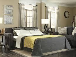 alenya charcoal queen sleeper sofa 1660139 seaboard bedding
