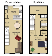 Imposing Decoration 1 Bedroom Townhomes Apartment Floor Plans