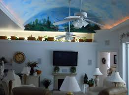 Paint Colors Living Room Vaulted Ceiling by Cathedral Ceiling Paint Ideas Fabulous Cathedral Ceiling Same