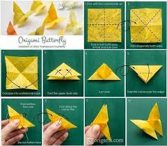 Easy Origami Butterfly Step 110 Best Images On Templates