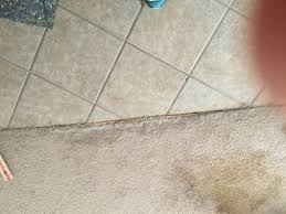 carpet to tile transition carpet repair in scottsdale scottsdale