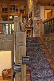 Rustic Style Love The Detail And Look Of This Staircase