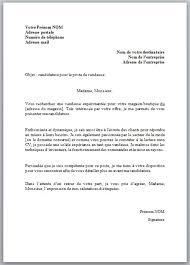 lettre de motivation pour un poste de vendeuse modèle et conseils
