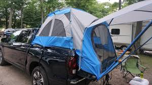 100 Truck Tent Camper Burgess Out In The Woods With The Honda Ridgeline