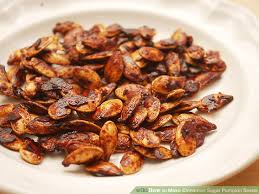 Roasting Pumpkin Seeds In The Oven Cinnamon by How To Make Cinnamon Sugar Pumpkin Seeds 8 Steps With Pictures