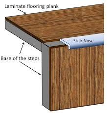 Wood Stair Nosing For Tile by Stair Transition Piece Luxury Vinyl Plank Flooring Pinterest