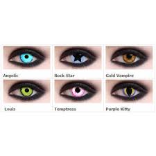 Prescription Contact Lenses Halloween Uk by Colored Contact Lenses Polyvore