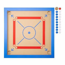 255 Sturdy Carrom Board Game From IKEA Includes A Striker And 20 Coins