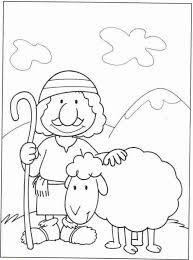 Easier Good Shepherd Coloring Page Best Res