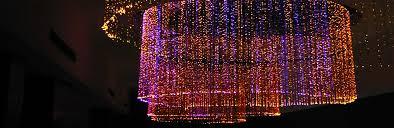 Fiber Optic Ceiling Lamp by Fiber Optic Star Delhi Fiber Optic Star India Fiber Optic Star
