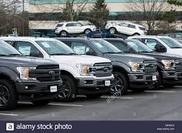 A Row Of New Ford F-series Pick-up Trucks And Explorer SUV's At A ... First Photos Of New Heavy Ford Truck Iepieleaks Lowest Prices On F250 Trucks Tampa Bay Area Basil New Dealership In Cheektowaga Ny 14225 2017 Super Duty F450 Drw Fred Beans 2018 F150 Revealed With Diesel Power News Car And Driver Fords Pickup Truck Raises The Bar Business Used Cars Trucks For Sale Regina Sk Bennett Dunlop 2016 Work For Sale In Glastonbury Ct Vehicle Specials Low Cost Offers Cars Interview Brian Bell 2014 Tremor The Fast Lane All Houston Tomball