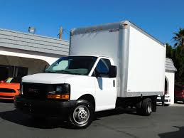100 Used Box Truck 2014 GMC Savana Commercial Cutaway 14FT W