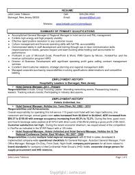 Newest Hospitality General Manager Resume Brilliant Ideas Of Hotel Samples In Sample