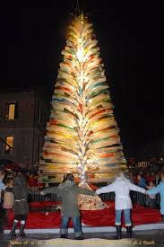 Christmas Tree Made In Murano Glass By Cenedese