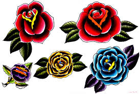 Sailor Jerry Rose Tattoo 14 Wilkie Roses