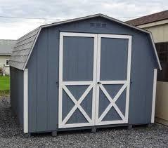 6x8 mini barn wood shed kit