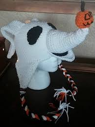 Nightmare Before Christmas Zero Halloween Decorations by Crochet Nightmare Before Christmas Zero Hat By Nogrannycaps