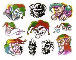 Creepy Clown Pumpkin Stencils by 40 Best Clown Tattoo Designs