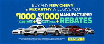 McCarthy Chevrolet Olathe | New & Used Chevy Dealer Near Kansas City