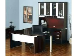 Bestar L Shaped Desk by Fine Bestar U Shaped Desk For House Design Right And Hutch