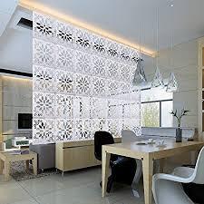 kernorv diy raumteiler trennwand zum aufhängen dekorative paneele 12 stück raumteiler zum aufhängen trennwand für schlafzimmer esszimmer
