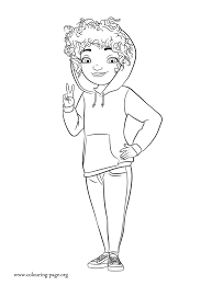 Tip Tucci Coloring Page