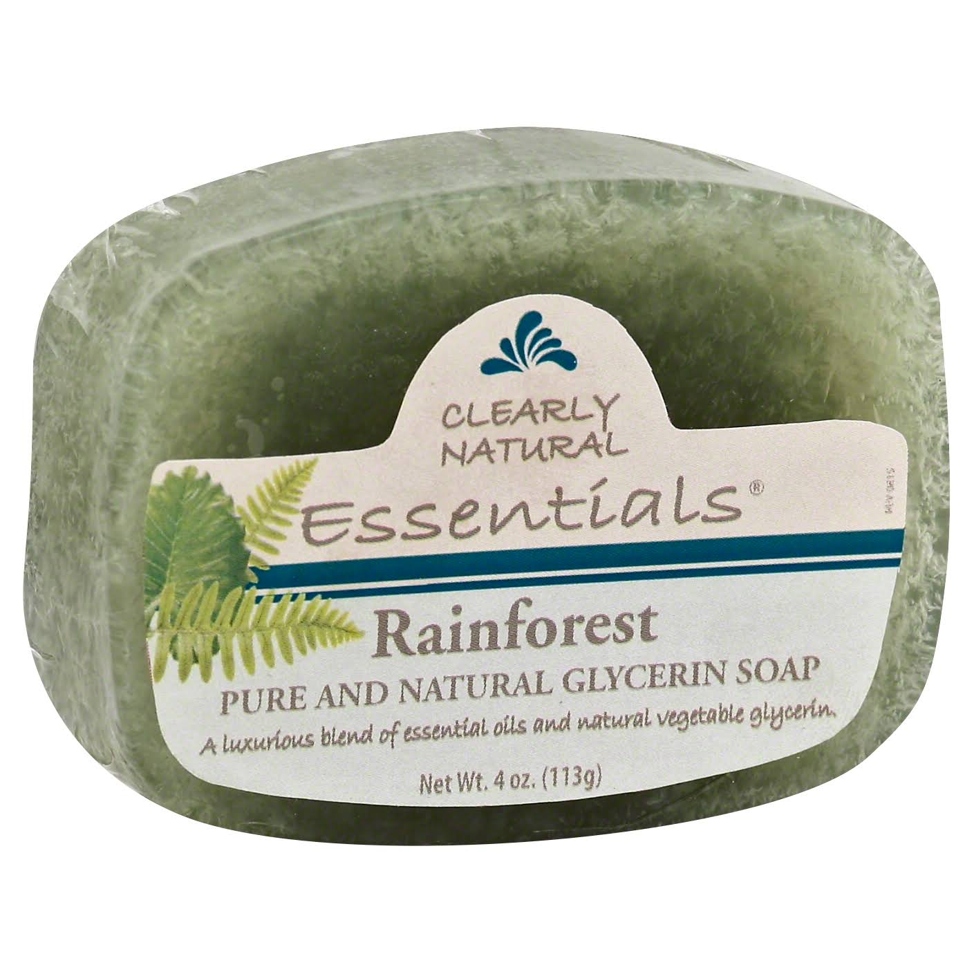 Clearly Natural Glycerine Soap - Rainforest