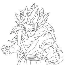 Dragon Ball Z Coloring Pictures Printable Son Put On Horse Pages For Kids Sheets Gt Goku