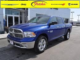 New 2015 RAM 1500 Big Horn Truck Crew Cab Premium Bucket Seats Blue ...