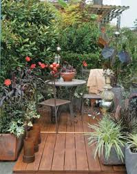 Impressive On Tiny Patio Garden Ideas Small With Water Feature Traditional Design