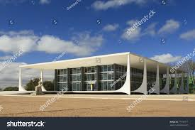 100 Where Is Brasilia Located Supreme Federal Court Building City Stock Photo