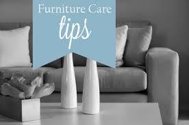 Furniture Care Tips by Pilgrim Furniture City Hartford