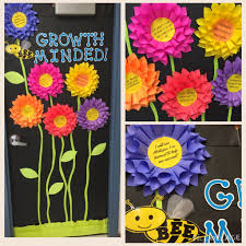Thanksgiving Classroom Door Decorations Pinterest by Growth Mindset Door Decoration For Ideas