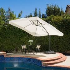 Square Patio Umbrella With Netting by Patio Umbrellas U0026 Shades Store Shop The Best Deals For Dec 2017