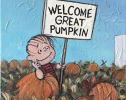 Linus Great Pumpkin Image by Great Pumpkin Etsy