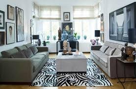symmetrische einrichtung für gelungenes wohndesign