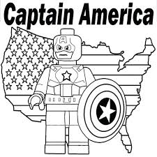 Super Hero Squad Coloring Pages Printable Superheroes Free Shield Captain